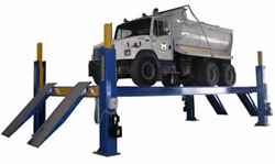 Four post 18-125,000 lb capacity 6