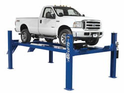 4 post - 9,000 to 15,000 lb capacity 4